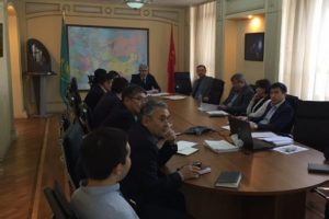 Отчетная встреча Заместителя генерального директора по эксплуатации с работниками структурного подразделения ТОО
