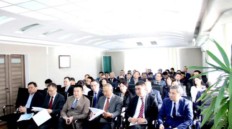 Reporting meeting of the First leader under the results of Beineu-Shymkent Gas Pipeline LLP production and economic activity for 2017.