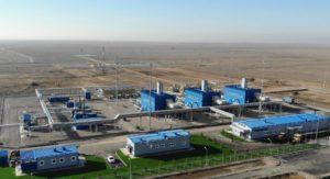 «Бейнеу-Бозой-Шымкент» магистральдық газ құбырында «Түркістан» компрессорлық станциясы жұмысын бастады.