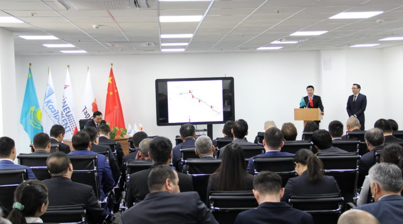 Reporting meeting of the First leader of Beineu-Shymkent Gas Pipeline LLP with personnel according to the results of the year 2018 and tasks for the year of 2019.
