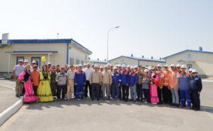 АО «КазТрансГаз» совместно с китайской нефтегазовой корпорацией CNPC ввели в эксплуатацию четыре новых вахтовых поселка и ремонтно-эксплуатационных участка магистрального газопровода «Бейнеу-Бозой-Шымкент»