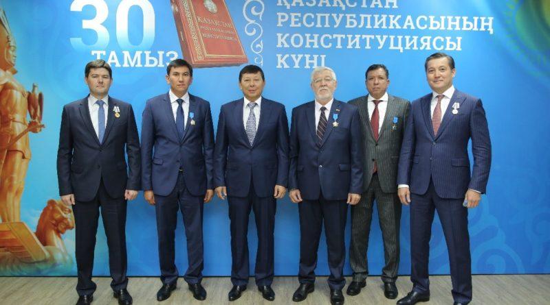 День Конституции и День работников нефтегазового комплекса отметили в АО «КазТрансГаз»