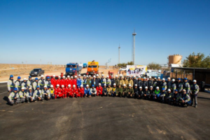 Amangeldy Gas LLP held command and staff exercises