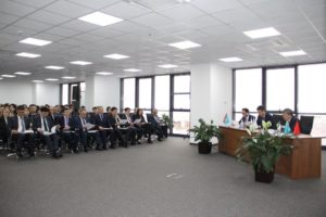 Reporting meeting of the First Leader of Beineu-Shymkent Gas Pipeline LLP with the labor team based on results of 2019 and tasks for 2020