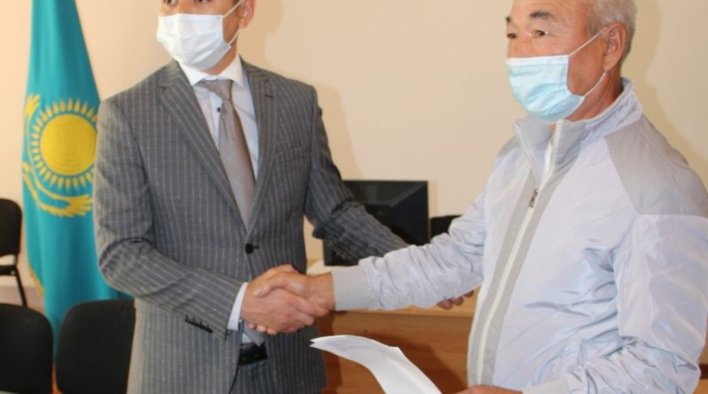 The first residents of the capital received documents for gasification