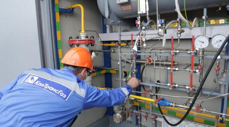 Жамбылской области в эксплуатацию запущена новая АГРС «Мерке»